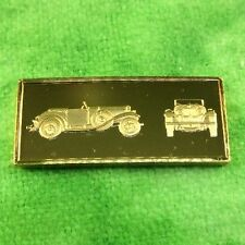 Franklin Mint Silver Ingot World Great Performance Car 1932 STUTZ DV-32 Vehicle