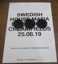 Swedish House Mafia - live music show 2019 promotional tour concert gig poster