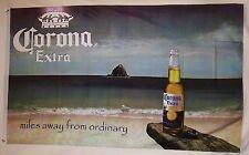 Corona Beach Beer Flag 3' X 5' Indoor Outdoor Beverage Banner