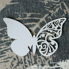 50x Butterfly Design Table Name Place Card Wedding Party Decoration Favor