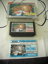>> SUPER STAR FORCE SHOOT THEM UP NES FAMICOM JAPAN IMPORT COMPLETE IN BOX! <<