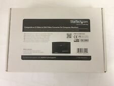 StarTech composite or S-Video to VGA Video converter for Computer Monitors