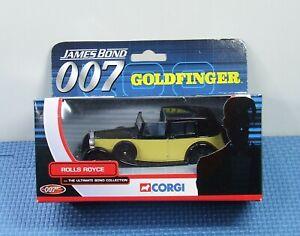 CORGI 1/36 JAMES BOND 1937 Gold Finger ROLLS ROYCE - Top Condition Model/Packet
