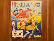 PANINI Album WM 1990 in Italien Leeralbum mit Lagerspuren und Bemalungen WC 90