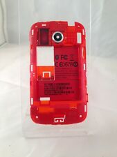 Official Genuine - HTC Desire C - Red - Rear Mid Frame Housing
