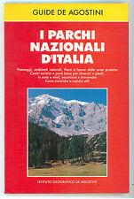 I PARCHI NAZIONALI D'ITALIA DE AGOSTINI 1988 GUIDE