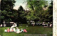 Vintage Postcard - 1908 Cadwalader Park Playground Tenton New Jersey NJ #2922