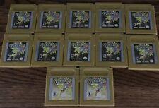 Pokemon Gold Version Nintendo Game Boy Tested Authentic Original New Battery