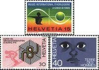 Schweiz 1000-1002 (kompl.Ausgabe) gestempelt 1973 Jahresereignisse
