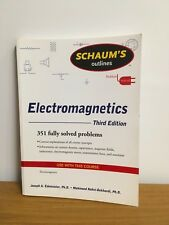 Schaum's Outline of Electromagnetics, Third Edition (Schaum's Outline Series), E
