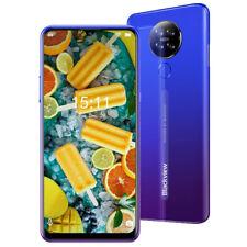 Blackview A80 Smartphone 2GB/16GB 128GB erweiterbar Dual SIM 13MP+5MP Handy Blau