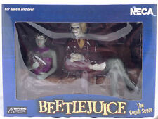 Beetlejuice - The Couch Scene Afterlife 4 Piece Diorama Set By NECA, NIB