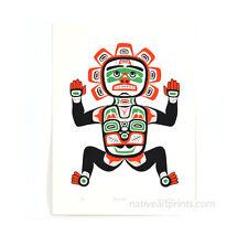 Vintage 1984 Russell Smith Welcome Figure Sun Mask Silkscreen Print Edition 300
