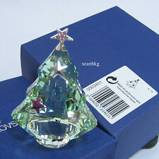 Swarovski Christmas Tree Chrysolite Winter Green Crystal Figurie MIB 5003401