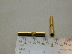 20 Positronics FC112N2 GMCT Series POWR-LOK F/M Crimp Contacts 25A 12AWG