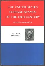 The US Postage Stamps of the19th Century by Lester G.Brookman.Volumes 1, 2,3 New
