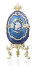 Faberge Egg & piano trinket box hand made by Keren Kopal & Austrian crystals