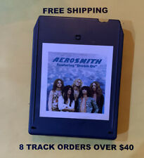 """Aerosmith Featuring """"Dream On"""" 8 track tape tested"""