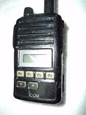 Icom F50v Vhf Portable Radio Tested Working Radio Narrow Fire Pager Murs