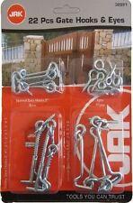 Gate Hooks & Eyes 22pc Safety Eye Home Work Office Door Normal Tool Security