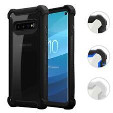 Schutz Hülle für Samsung Galaxy S10 PLUS Hybrid 2 in 1 Acryl Hard Cover Case TPU