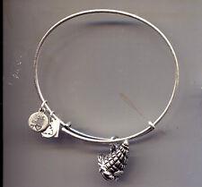 cornucopia charm bracelet Alex & Ani silver