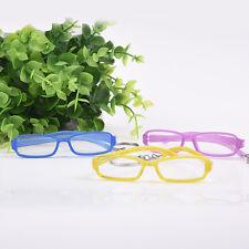 3 Pairs Plastic Rimmed Eye Glasses for 1 / 6 Blyth &1 / 3 BJD Dolls Glasses Gift