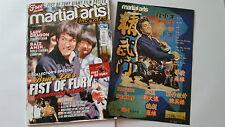 "Bruce Lee "" Martial Arts Illustrierte "" Inc Fist of Fury Postermag Magazin"
