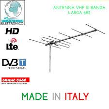 ANTENNA VHF III BANDA LARGA 6B3 DIGITALE TERRESTRE