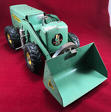 Rare Vintage Green 1950'S NY-LINT HOUGH PAYLOADER Pressed Steel