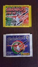 Bustine figurine calciatori panini anni 1998/99 e 1999/2000 sigillate originali