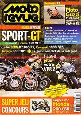 MOTO REVUE 3231 YAMAHA 850 TDM HONDA 750 VFR KAWASAKI GPZ ZX-7 Ninja BMW R1100