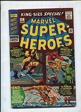 MARVEL SUPER-HEROES #1 (7.5) DAREDEVIL #1 AVENGERS #2 1ST SUBBY VS TORCH RETOLD!