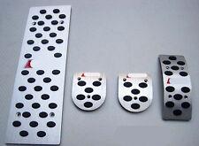 Foot Rest Pedal Brake Gas Fuel for Audi A4 B6/B7/B8 A6 C5/C6 A7 Q5 MT (4pcs)