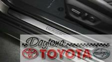 TOYOTA SELECT 2018-2020 CAMRY DOOR SILL PROTECTORS STAINLESS STEEL 4 PC.