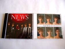 NEWS Taiyo no Namida JAPAN Maxi CD Single x 2 version w/OBI 2008 Yamapi Tegomass