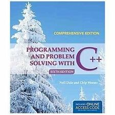 Programming and Problem Solving with C++: Comprehensive Dale, Nell Paperback Boo