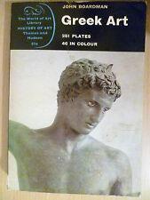 John Boardman GREEK ART 1st Edition