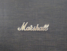 Marshall Gold Script Logo  (150mm) (REQUIRES MODEL AND SERIAL NO. FOR PURCHASE)