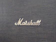 Marshall White/Gold Script Logo 8 (150mm)