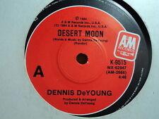 """Dennis De Young """"Desert Moon"""" Obscure Oz 7"""""""