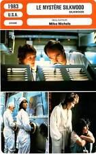 FICHE CINEMA : LE MYSTERE SILKWOOD - Streep,Russell,Cher,Ward,Nichols 1983