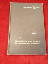 """OLD VTG 1962 BOOK """"MODULATION & CODING IN INFORMATION SYSTEMS"""" GORDON M. RUSSELL"""