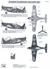 Berna Decals 1/32 MORANE SAULNIER MS 406 French WWII Fighter