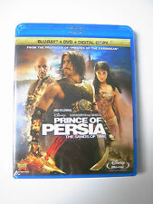 Disney Prince of Persia The Sands of Time Blu-ray DVD Digital Copy 3 Disc Set