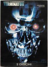 Dvd Terminator - Definitive edition 2 dischi di James Cameron 1984 Usato
