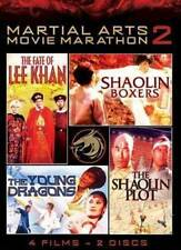 New: MARTIAL ARTS MOVIE MARATHON VOL. 2 (4 Films, 2-DVD Set)
