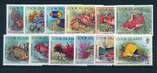COOK ISLANDS 1992 DEFINITIVES SG1261/1272 MNH