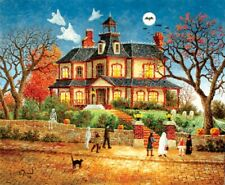 Jigsaw Puzzle Seasonal Halloween You Go First 1000 pieces NEW made in USA