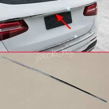 For 2016-2020 Mercedes GLC Wagon X253 Steel Trunk Lid Tail Gate Strips Trims